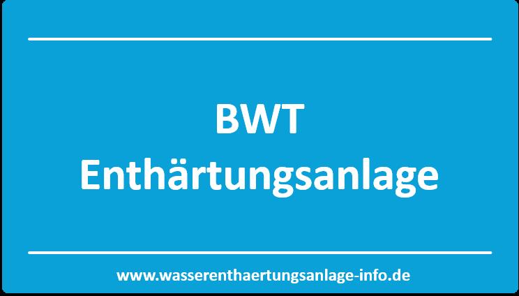 Berühmt ➀ BWT Enthärtungsanlage sinnvoll nutzen - Firmen Vision &SF_53