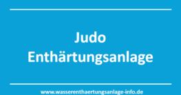 Judo Enthärtungsanlage - Ratgeber