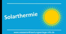 Solarthermie Ratgeber